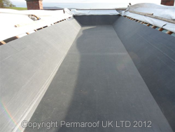 After EPDM Rubber Roof Installation | Flat Roof News