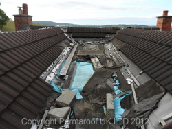 Before EPDM Rubber Roofing Installation | Flat Roof News