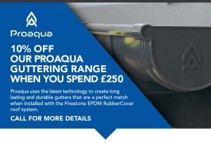 ProAqua Gutter System | Flat Roofing Supplies