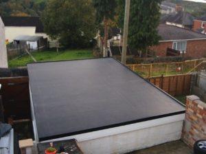 Garage Flat Roof | DIY EPDM
